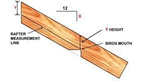 rafter birdsmouth