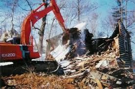 House Demolishion and lot clearing
